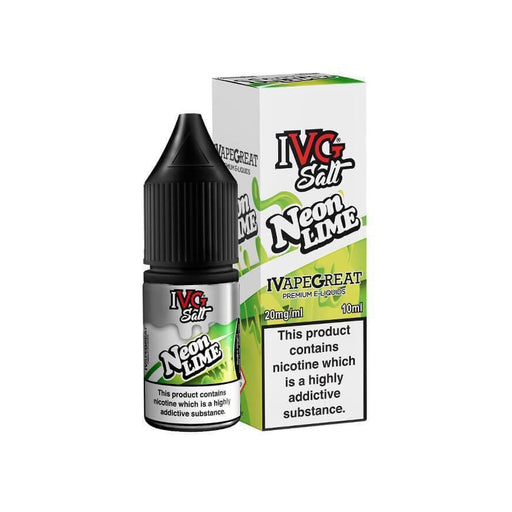 Neon Lime 10ml Salt eLiquid by IVG