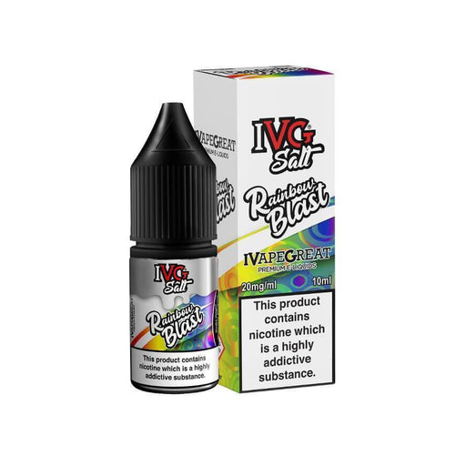 Rainbow Blast 10ml Salt eLiquid by IVG