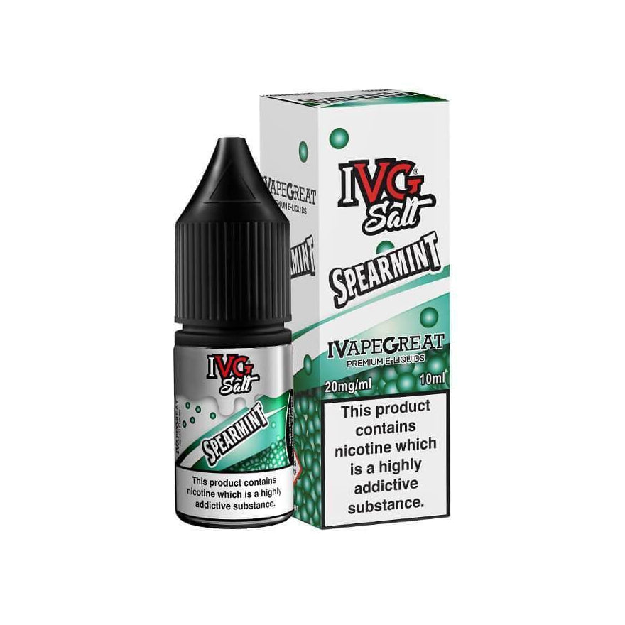 Spearmint 10ml Salt eLiquid by IVG