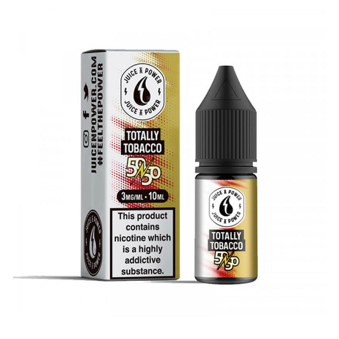 Totally Tobacco 10ml eLiquid by Juice N Power