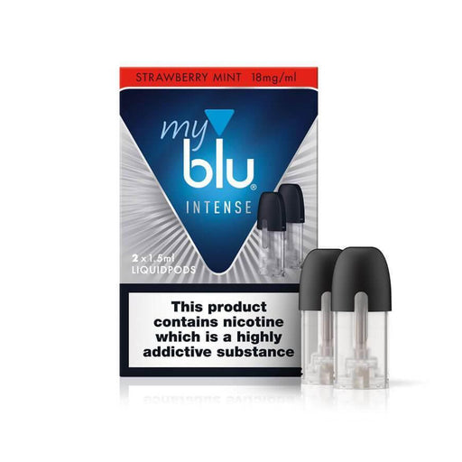 Strawberry Mint Salt Pods by MyBlu