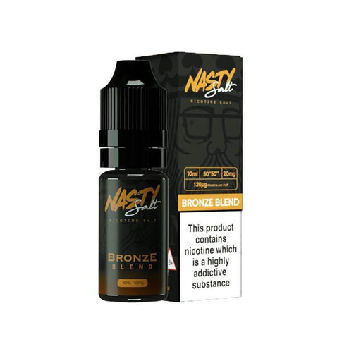 Bronze Blend 10ml Salt eLiquid by Nasty Juice