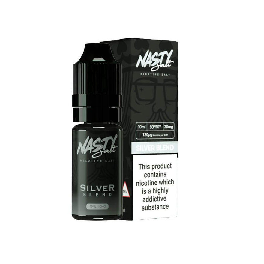 Silver Blend 10ml Salt eLiquid by Nasty Juice