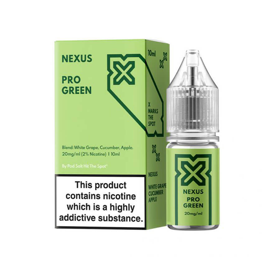 Pro Green 10ml Salt eLiquid by Nexus