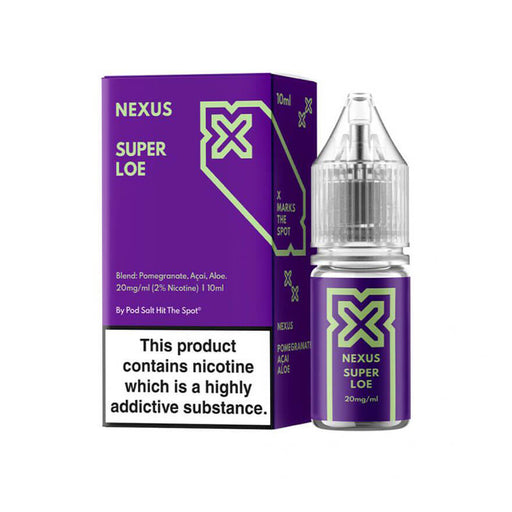 Super Loe 10ml Salt eLiquid by Nexus