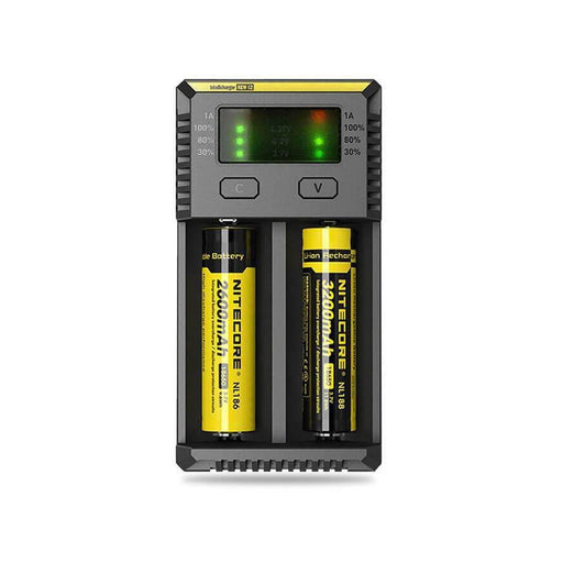 i2 - 2 Bay Charger by Nitecore
