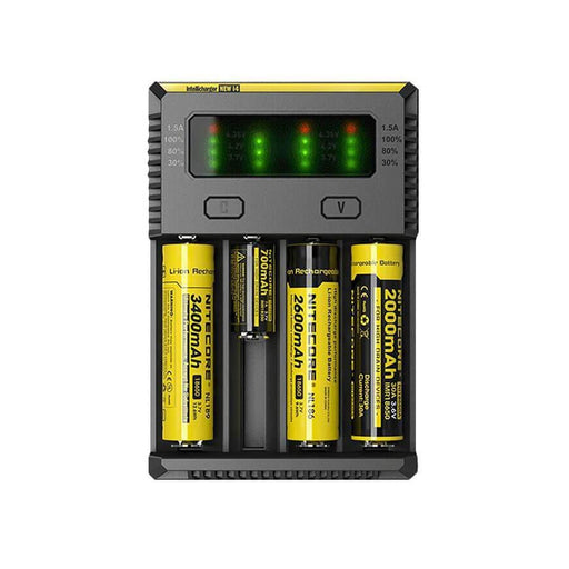 i4 - 4 Bay Charger by Nitecore