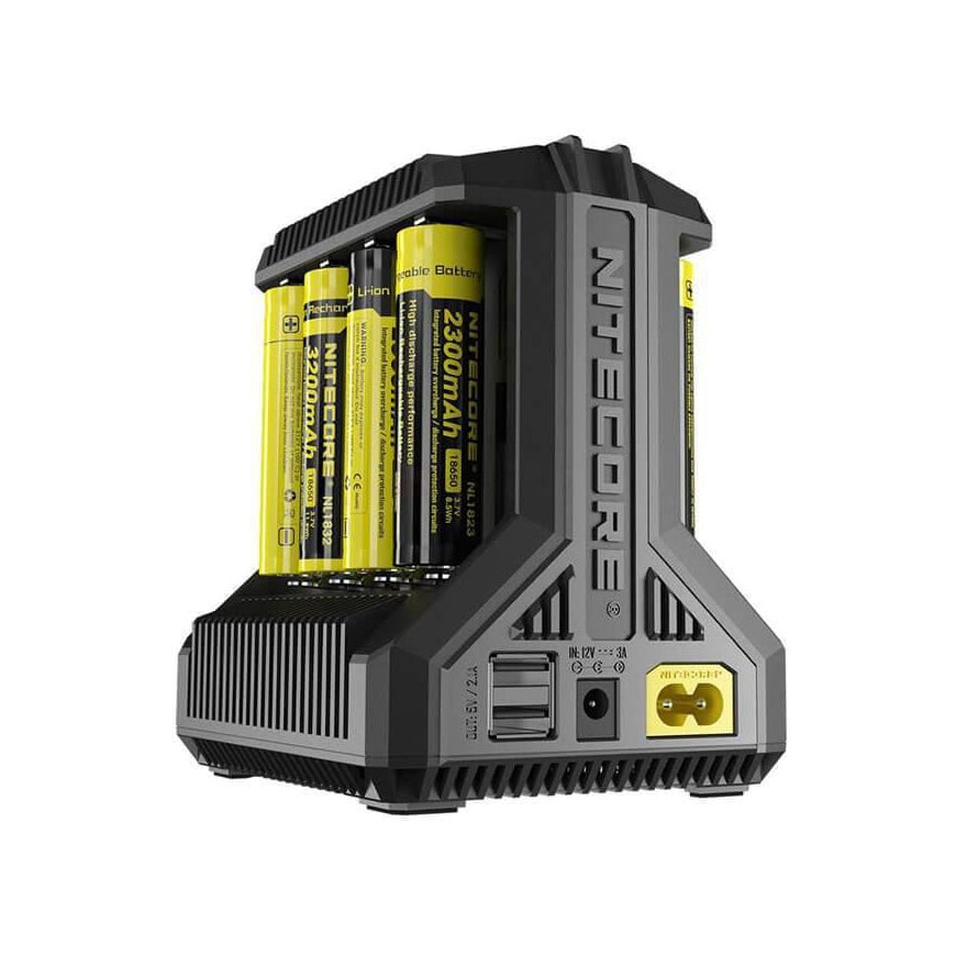 i8 - 8 Bay Charger by Nitecore