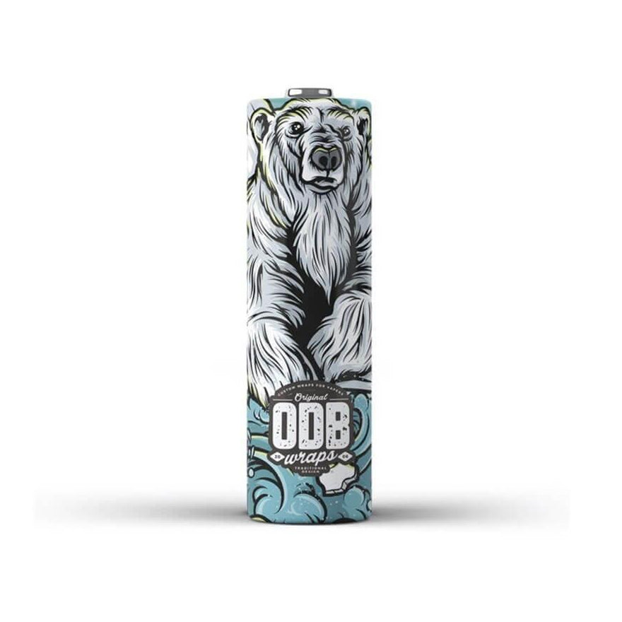 Polar Bear Design Battery Wrap X4 by ODB