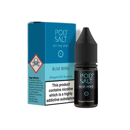 Blue Berg 10ml Salt by Pod Salt