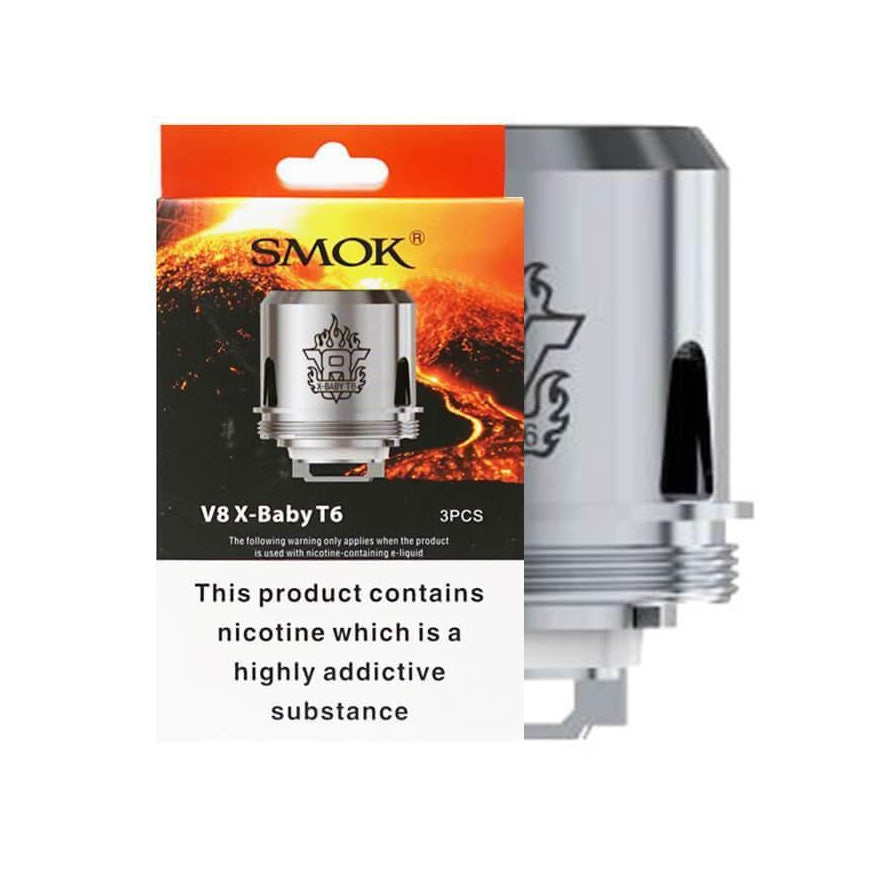 V8 X-Baby T6 Coil X5 by SMOK