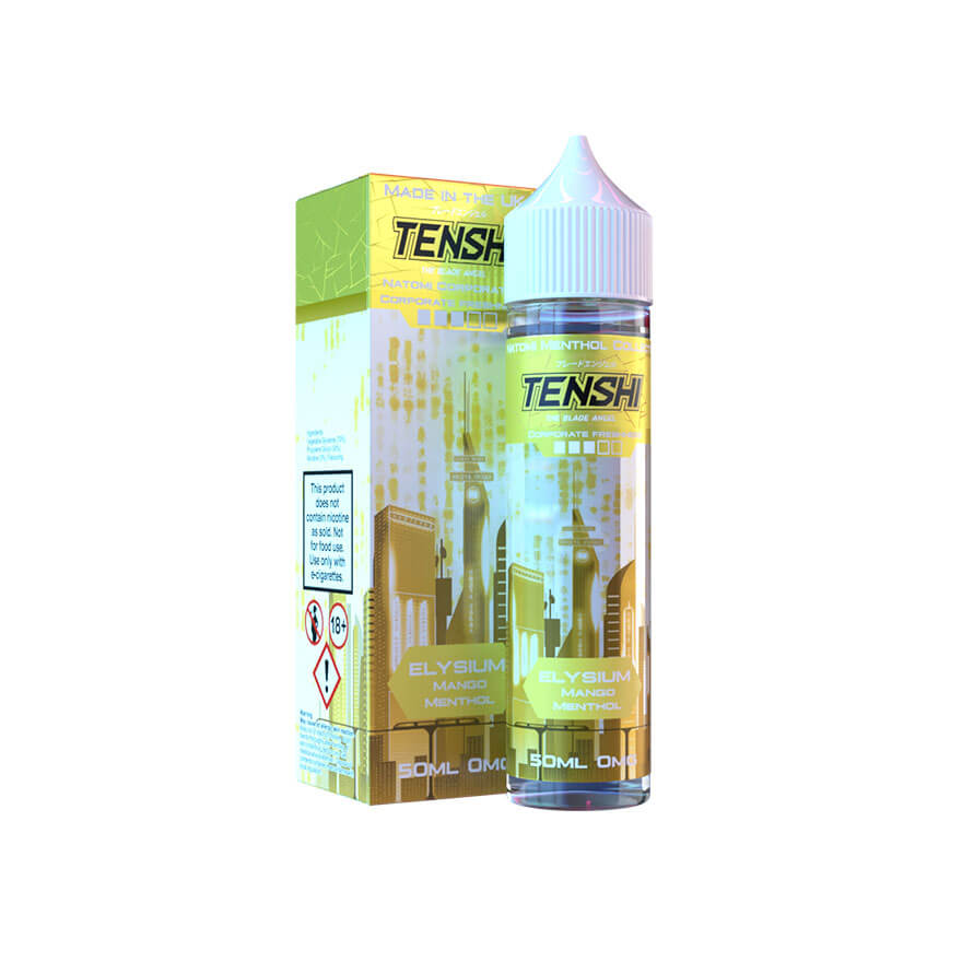 Elysium 50ml eLiquid by Tenshi