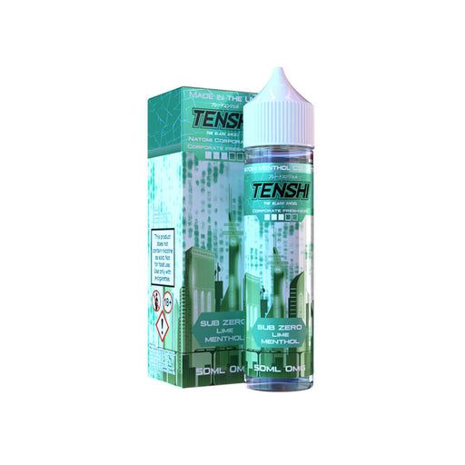 Sub Zero 50ml eLiquid by Tenshi