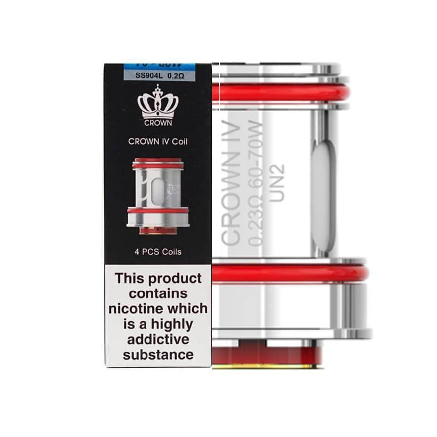 Crown 4 Coil X4 by UWell