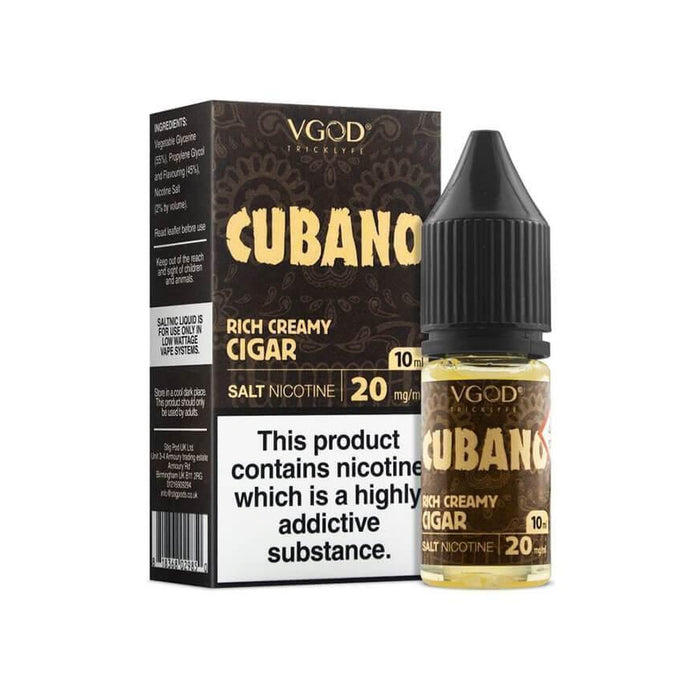 Cubano 10ml Salt by VGOD