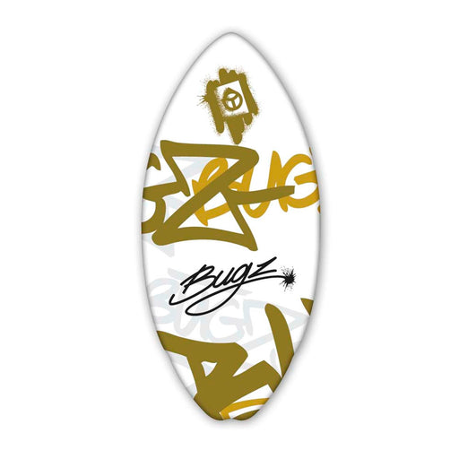 "BUGZ Wood 42"" Graffiti L Skimboard"