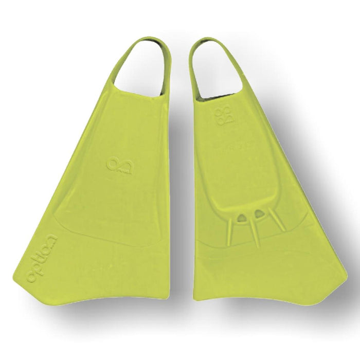 OPTION S Lime Bodyboard Fins