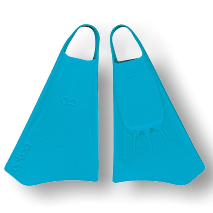 OPTION S Blue Bodyboard Fins