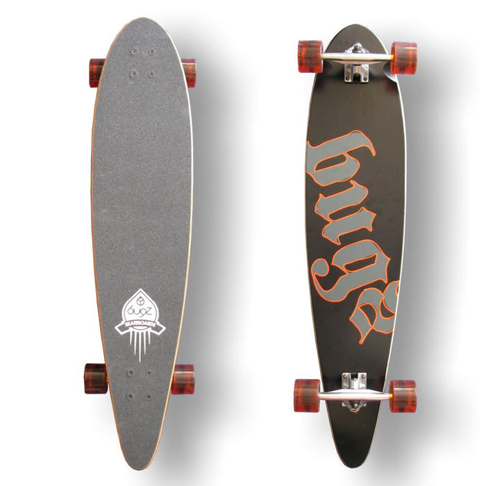 "BUGZ Pintail 40"" Longboard Complete"