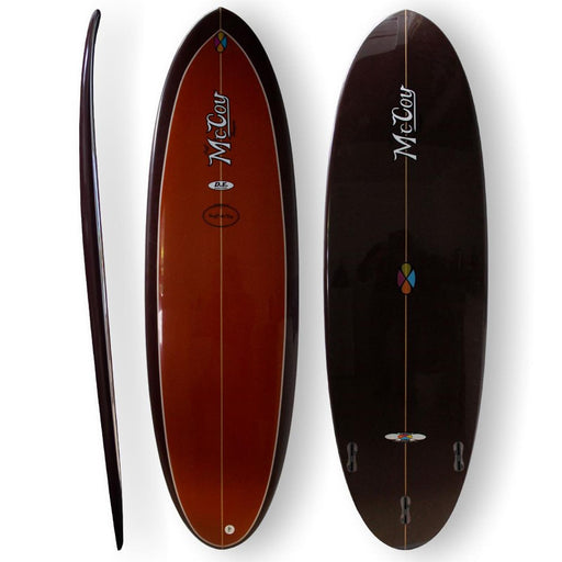 McCoy - Double Ender 6.4 XF Brown Surfboard