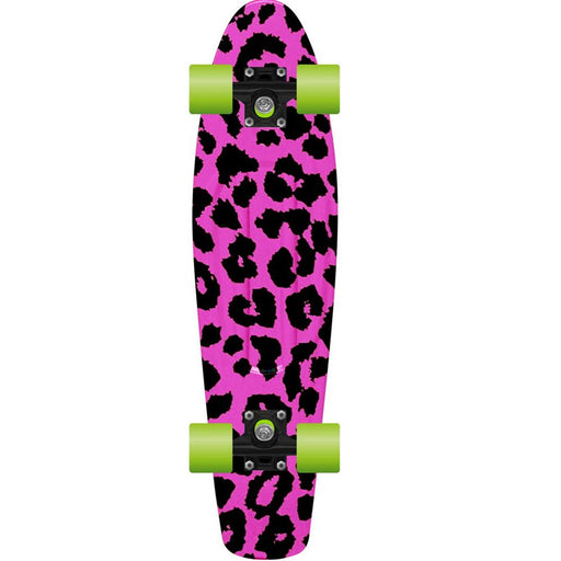 "PROHIBITION Retro Skateboard, 28"" Pink Panter"