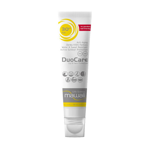 Mawaii DuoCare Kombi-Stick for Face & Lips, SPF 30