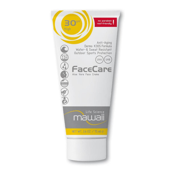 Mawaii FaceCare K3OS Formula, 75ml SPF 30