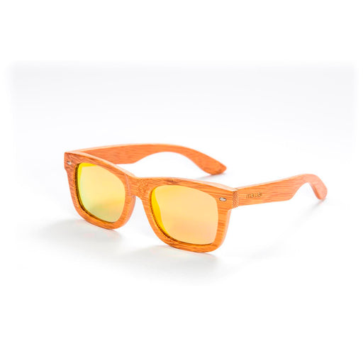 Mawaii Bamboo Ahua Ra Sunglasses, Gold