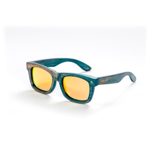 Mawaii Bamboo Koa Wai Sunglasses, Gold & Yellow
