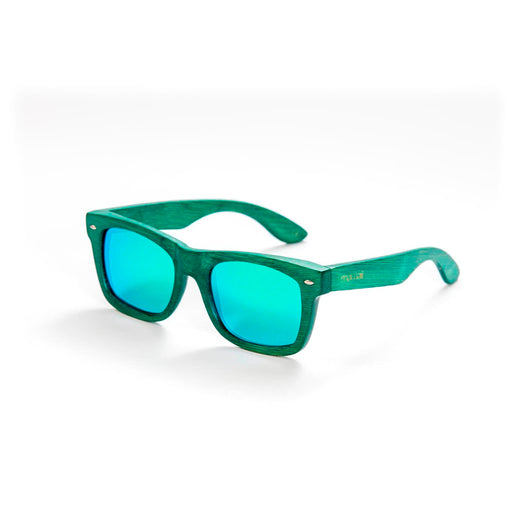 Mawaii Bamboo Raorao Koa Sunglasses, Green