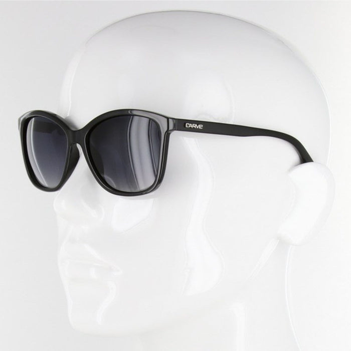 CARVE LILA Polarized Black Sunglasses