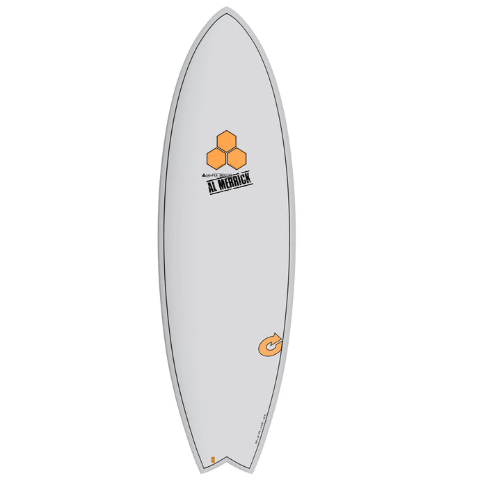 CHANNEL ISLANDS X-lite Pod Mod 5.6 Grey Surfboard