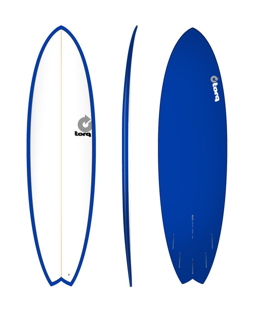 TORQ Epoxy 6.10 White & Blue Fish