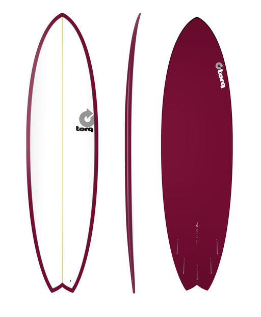 TORQ Epoxy 7.2 White & Burgundy Fish