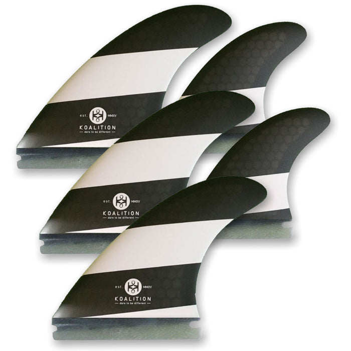 KOALITION Quad-Thrust Futures M Surfboard Fins