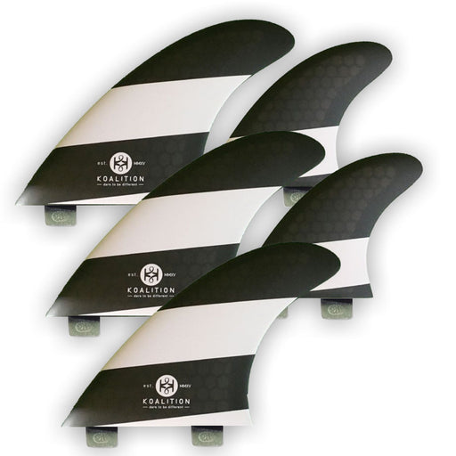 KOALITION Quad-Thrust FCS L Surfboard Fins