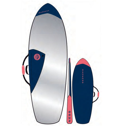 MADNESS PE 6.4 Blue & Red Boardbag