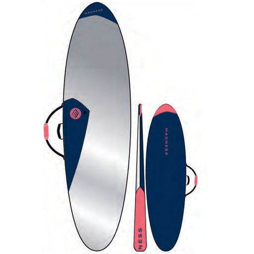 MADNESS PE 7.6 Blue & Red Funboard Bag