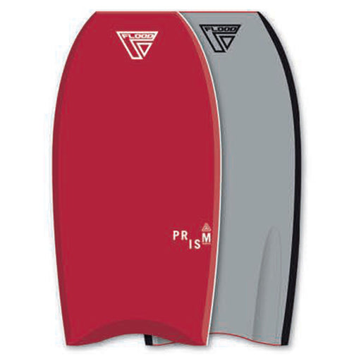 "FLOOD Prism Stringer PE 44"" Red Bodyboard"