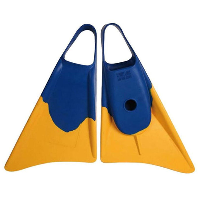 WEAPON M Blue & Yellow Bodyboard Fins
