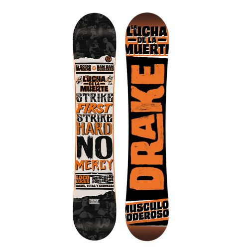 DRAKE DF3 Wide Freestyle Snowboard
