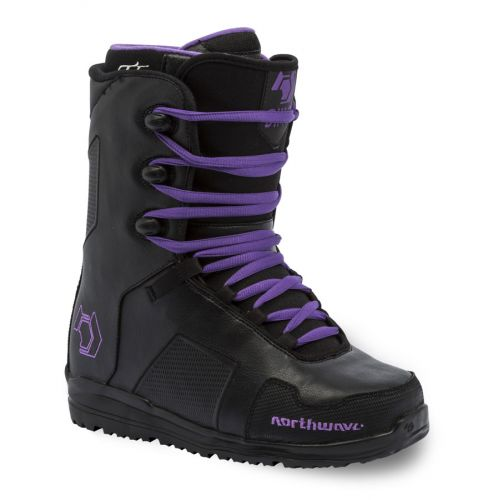 Northwave Dime Black & Purple Snowboard Boots