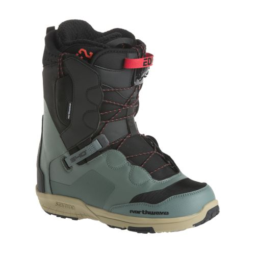 Northwave Edge SL Green & Black Snowboard Boots