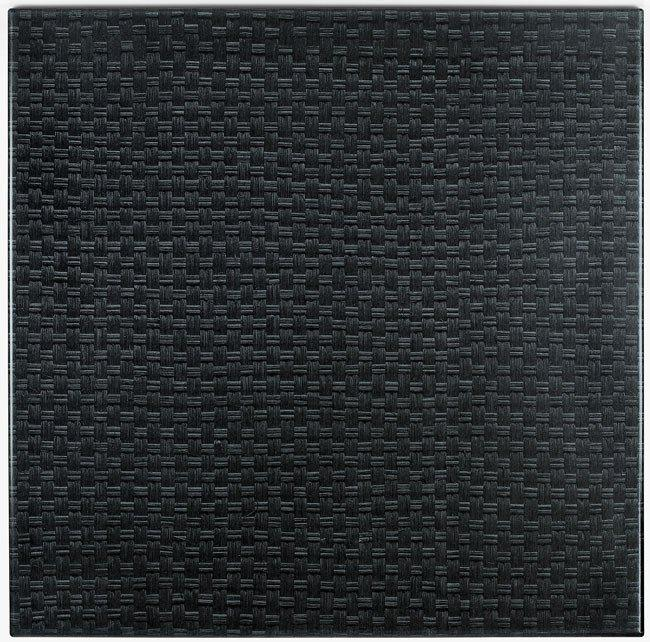 Werzalit Rattan Black Table Top-Werzalit-Contract Furniture Store