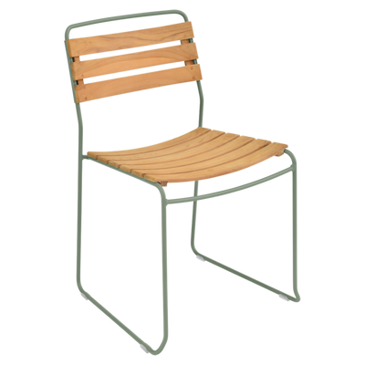 Surprising 1240 Teak Side Chair-Fermob-Contract Furniture Store