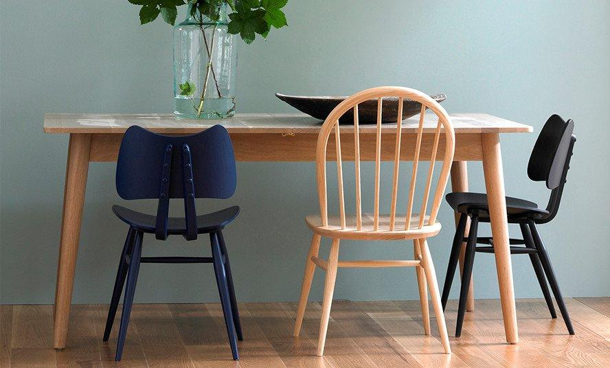 Originals Windsor Side Chair-Ercol-Contract Furniture Store