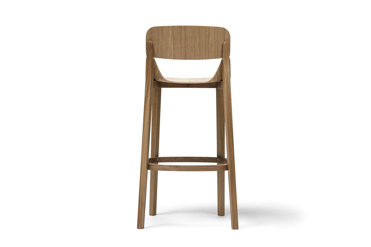 Leaf High Stool-Ton-Contract Furniture Store