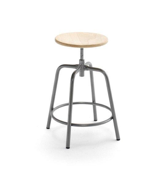 Susy High Stool c/w Adjustable Height-Cignini-Contract Furniture Store