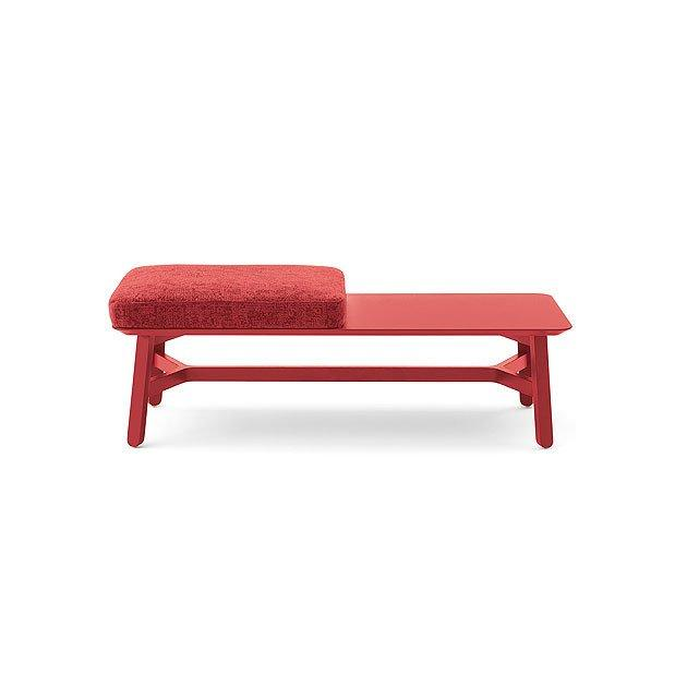 Croissant 593-Cushion Bench-Billiani-Contract Furniture Store