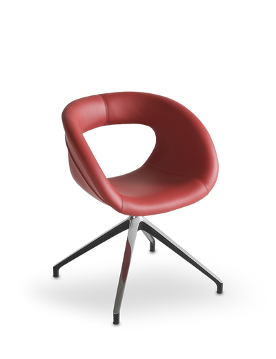 Moema U Side Chair-Gaber-Contract Furniture Store